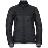 COCOON S ZIP IN-jas voor dames, black, large