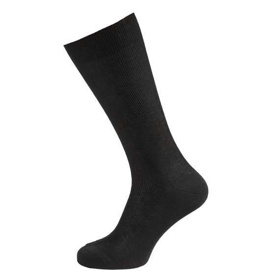 Socks long LIGHT, black, large
