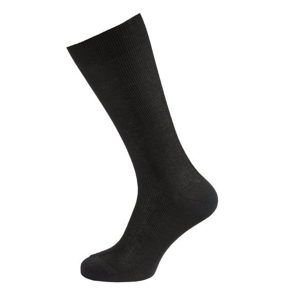 Socks long LIGHT, black, large