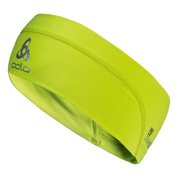 Headband CERAMICOOL, acid lime, large