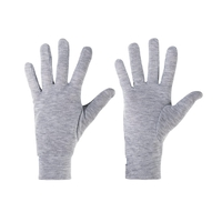 Gloves ORIGINALS Warm, grey melange, large