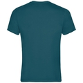 KUMANO LOGO Baselayer T-Shirt, blue coral - placed print FW18, large