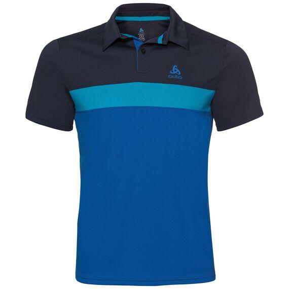 Polo s/s NIKKO LIGHT, diving navy - blue jewel - energy blue, large