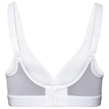 Classic High Sports Bra, white, large