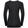 Damen PERFORMANCE LIGHT Baselayer Langarm-Shirt, black, large