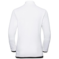 Midlayer 1/2 zip MATTERHORN, white - black, large