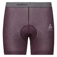 Short SUMMER SPLASH, plum perfect - AOP SS19, large