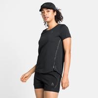 Damen ZEROWEIGHT CHILL-TEC BLACKPACK T-Shirt, black - blackpack, large