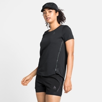T-shirt ZEROWEIGHT CHILL-TEC BLACKPACK pour femme, black - blackpack, large