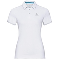Polo s/s KUMANO F-DRY, white, large