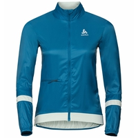 Women's ZEROWEIGHT Cycling Jacket, mykonos blue - surf spray, large