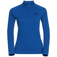 Midlayer 1/2 zip INYO, lapis blue, large