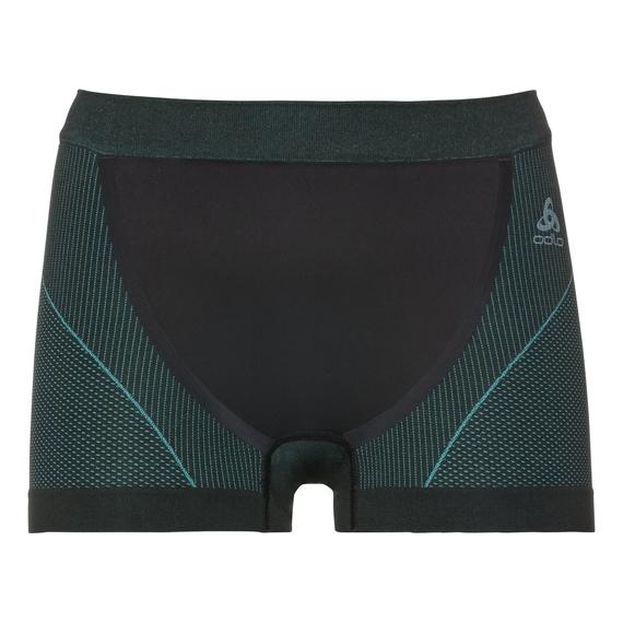 SUW Bottom Panty PERFORMANCE WINDSHIELD XC Light, black - blue radiance, large