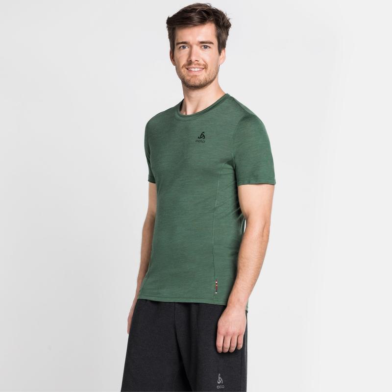 Men's NATURAL + LIGHT Short-Sleeve Base Layer Top, climbing ivy, large
