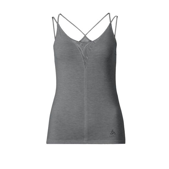 REVOLUTION X-LIGHT singlet, steel grey melange, large