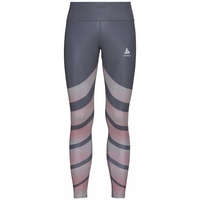 Damen ZEROWEIGHT Tights, odyssey gray - placed print SS20, large