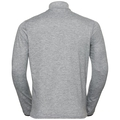 Midlayer 1/2 zip ALAGNA, grey melange, large