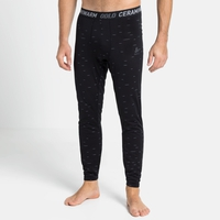 Herren ACTIVE THERMIC Baselayer-Pants, black melange, large