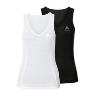 Originals light baselayer singlet 2 pack women, black - white, large