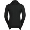 Men's ACTIVE WARM ECO Baselayer Top with Facemask, black, large