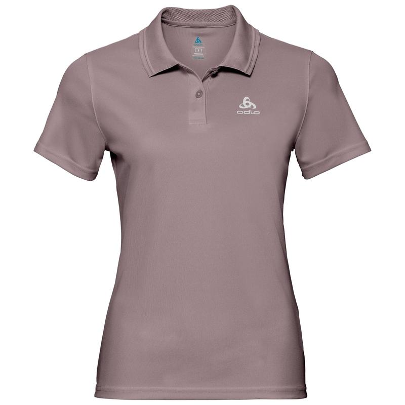 Polo shirt s/s TILDA, quail, large
