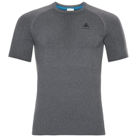 Men's PERFORMANCE WARM Baselayer T-Shirt, grey melange - black, large