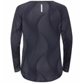Women's MAHA Long-Sleeve Top, odyssey gray - AOP SS20, large