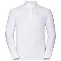 Pull ½ zippé ORSINO pour homme, white, large