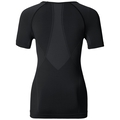 EVOLUTION LIGHT Baselayer Shirt Damen, black - odlo graphite grey, large