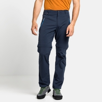 Pantaloni convertibili WEDGEMOUNT da uomo, diving navy, large