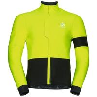 Jacket VLAANDEREN, safety yellow - black, large