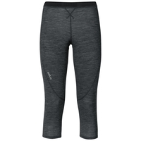 Pants 3/4 REVOLUTION TW WARM, black melange, large
