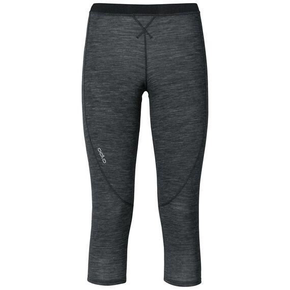 Pants 3/4 REVOLUTION TW WARM, black melange, large