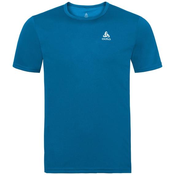 BL TOP Crew neck s/s CARDADA, mykonos blue, large