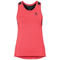 BL Top Crew neck Singlet CERAMICOOL, fiery coral - black, large