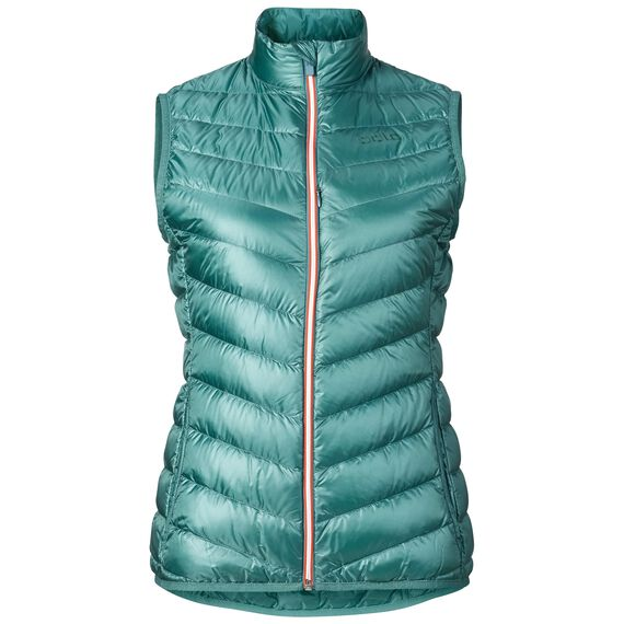 AIR COCOON Vest, silver pine, large