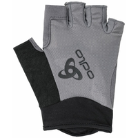 Mezzi guanti ACTIVE, odlo steel grey, large