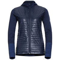 Women's ENGAGE Midlayer Hoody, diving navy - dazzling blue, large