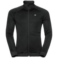 Midlayer full zip ODDVAR, black, large