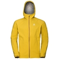 Herren AEGIS Hardshell-Jacke, lemon curry, large