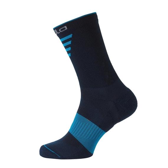 CERAMIWARM MID lange Socken, poseidon - blue jewel, large