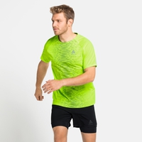 Men's ESSENTIAL PRINT Running T-Shirt, lounge lizard - graphic SS21, large