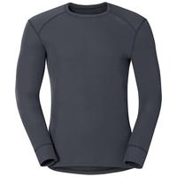 Herren ACTIVE WARM Funktionsunterwäsche Langarm-Shirt, india ink, large