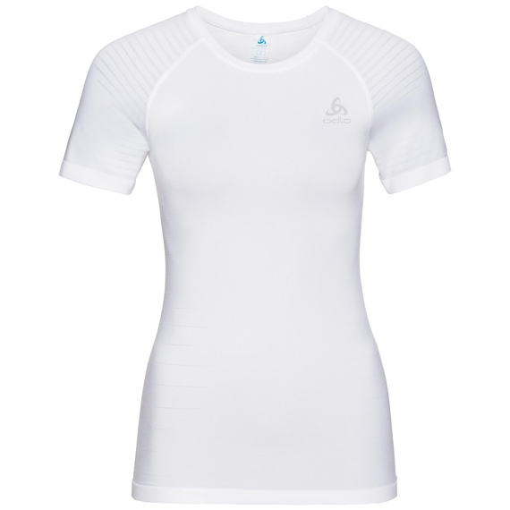 Damen PERFORMANCE LIGHT Funktionsunterwäsche T-Shirt, white, large