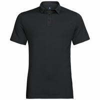 Polo manches courtes SAIKAI CERAMIWOOL, black, large