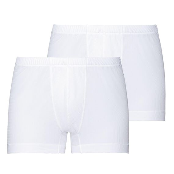 SUW Bottom Boxer ACTIVE CUBIC LIGHT 2 Pack ST, white - snow white, large