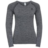 Women's PERFORMANCE LIGHT Long-Sleeve Baselayer Top, grey melange, large