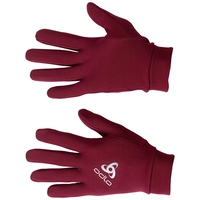 Gloves STRETCHFLEECE LINER Warm, rumba red, large