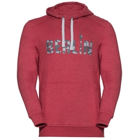 Hoody midlayer SQUAMISH CITY PROGRAM, jester red melange Berlin, large