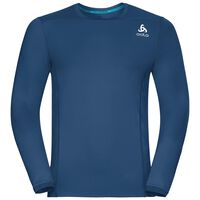 BL Top Crew neck l/s CERAMICOOL pro, poseidon, large